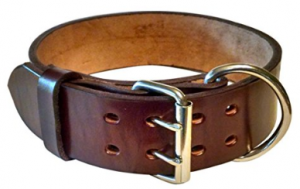 Blackjacks Leather Collar for Large Breed Dogs