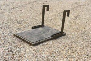 GatorTrax Dog Platform Duck Boat Ladder