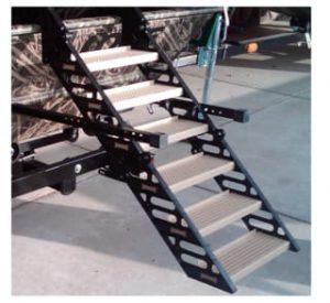 WAG Boarding Steps LM-6H Duck Boat Dog Ladder