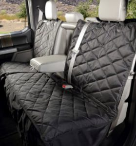 4Knines Crew Cab Rear Bench Seat Cover with Hammock Center Seam