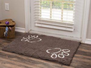 BirdRock Home Dog Doormat Grey