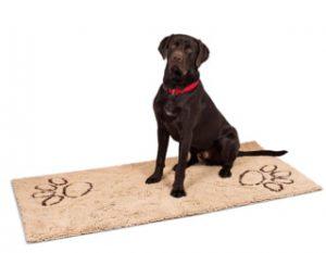 BirdRock Home Dog Doormat Tan