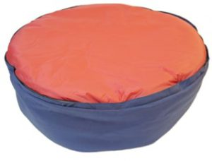 Noblecamper 2-in-1 Dog Bed and Sleeping Bag Zipped